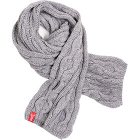 Elkline Hefezopf Strickschal grey